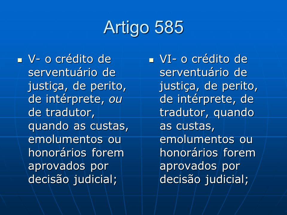 Artigo 585