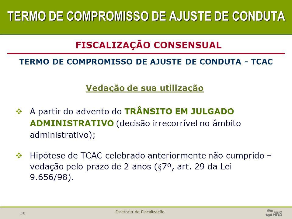 TERMO DE COMPROMISSO DE AJUSTE DE CONDUTA