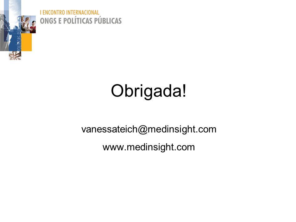 Obrigada! vanessateich@medinsight.com www.medinsight.com