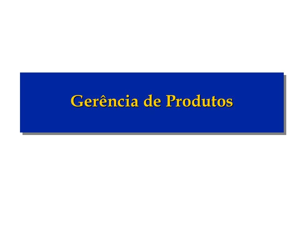 Gerência de Produtos