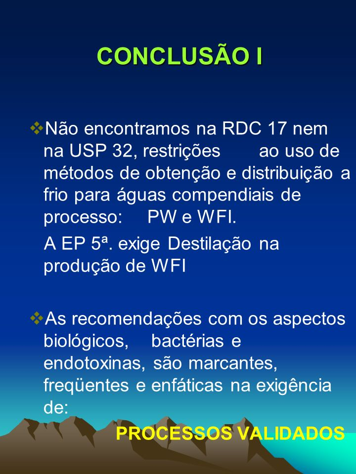 CONCLUSÃO I