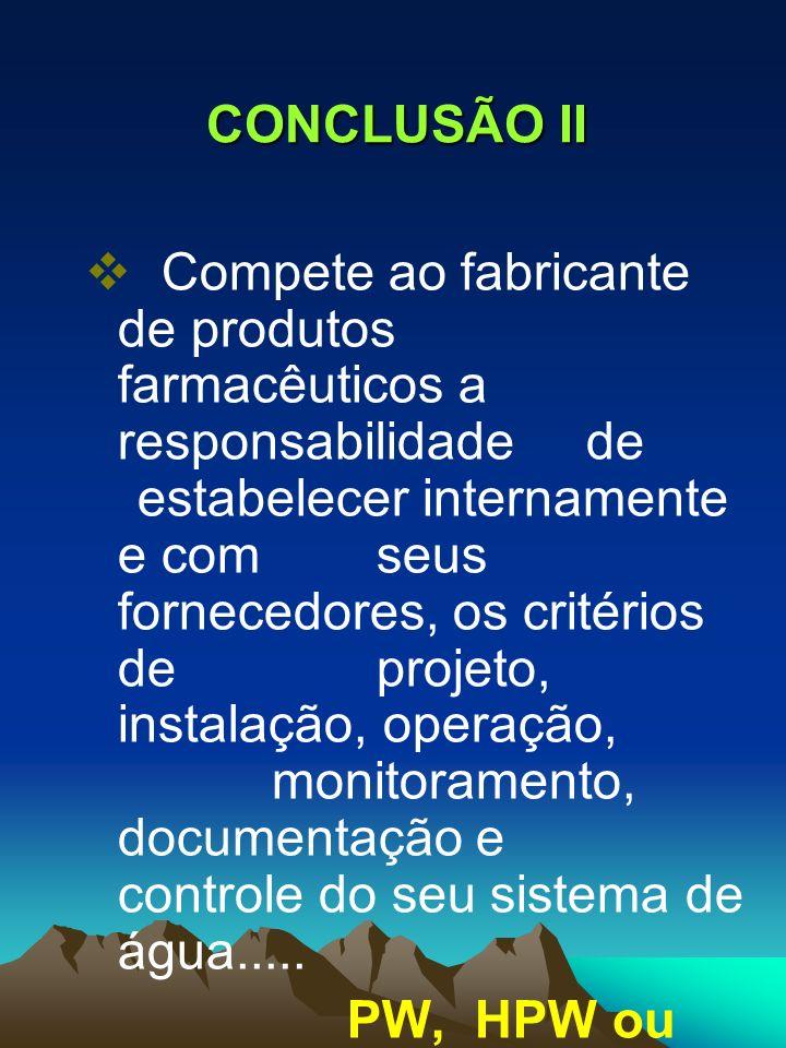 CONCLUSÃO II