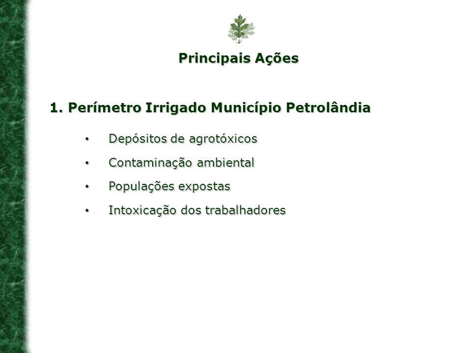 1. Perímetro Irrigado Município Petrolândia