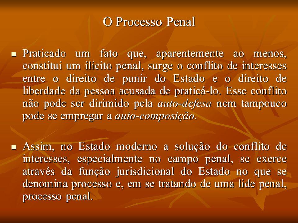 O Processo Penal