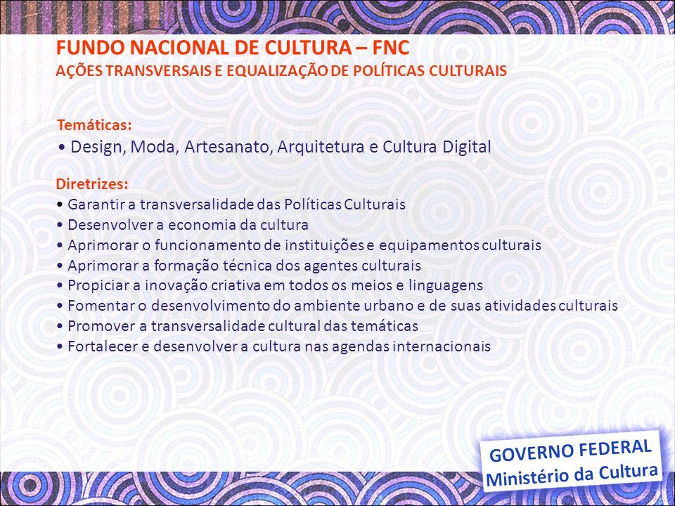 FUNDO NACIONAL DE CULTURA – FNC