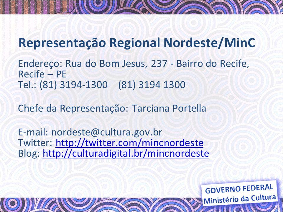 Representação Regional Nordeste/MinC
