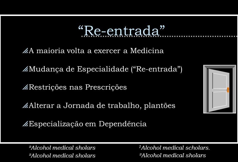 Re-entrada A maioria volta a exercer a Medicina