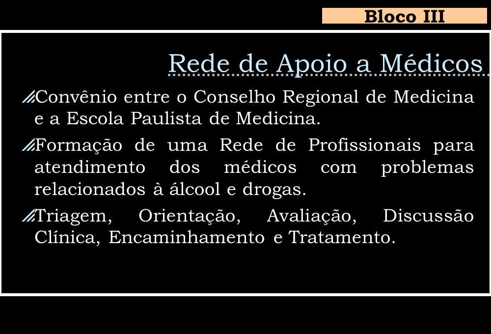 Rede de Apoio a Médicos Bloco III