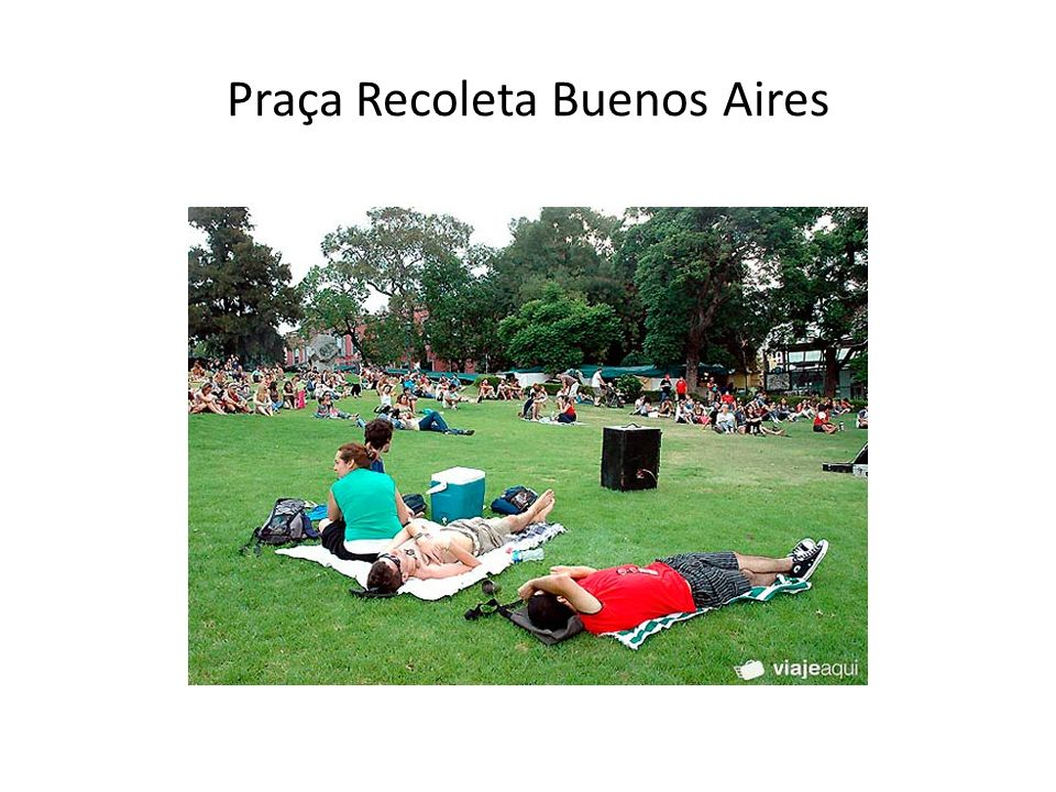 Praça Recoleta Buenos Aires