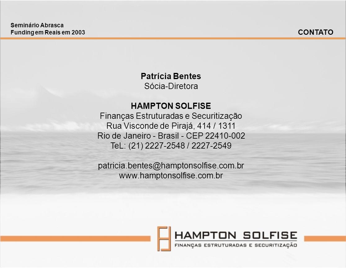 Patrícia Bentes HAMPTON SOLFISE