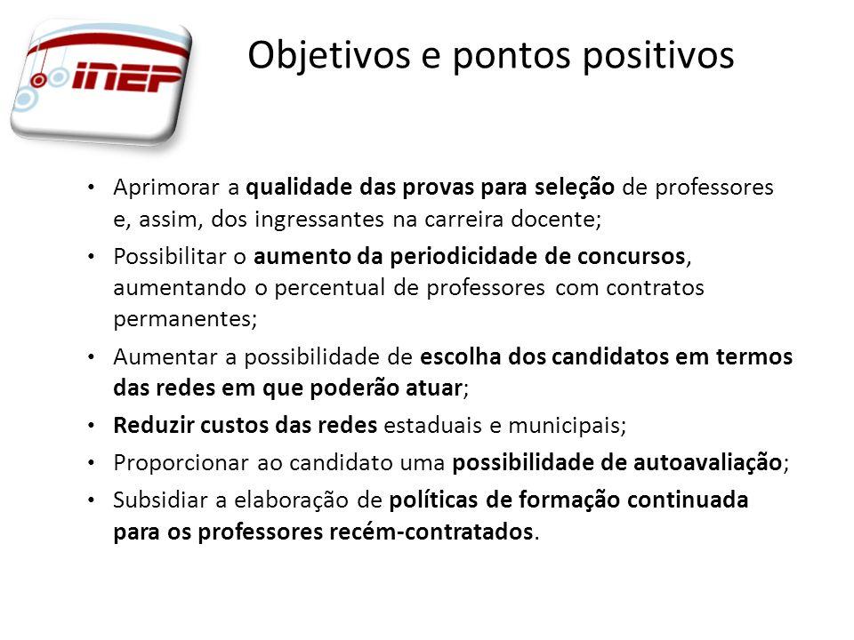 Objetivos e pontos positivos