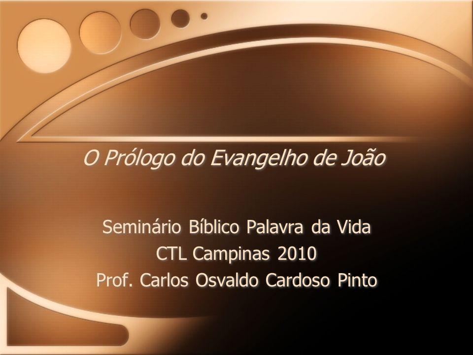 O Prólogo do Evangelho de João