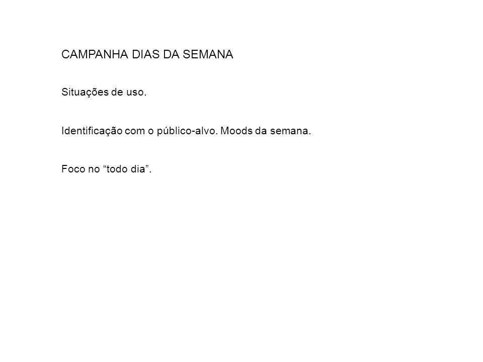 CAMPANHA DIAS DA SEMANA