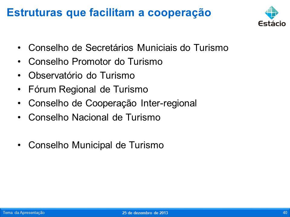 Estruturas que facilitam a cooperação