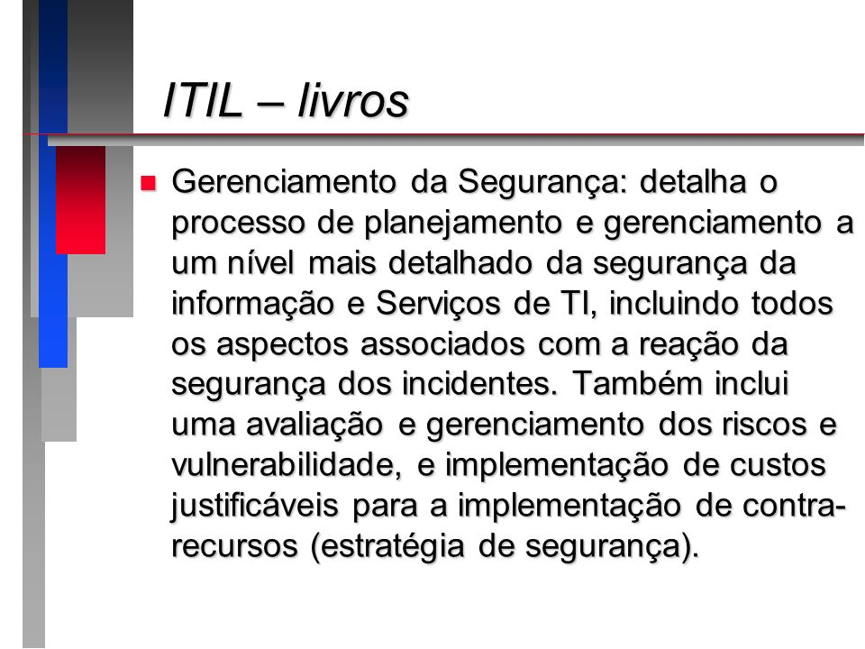 ITIL – livros