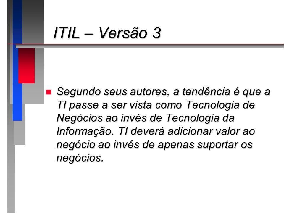 ITIL – Versão 3