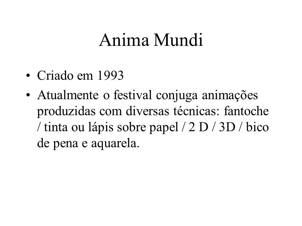Anima Mundi Criado em 1993.