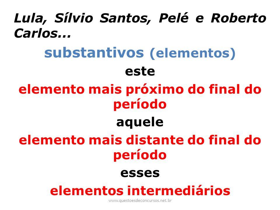 substantivos (elementos)