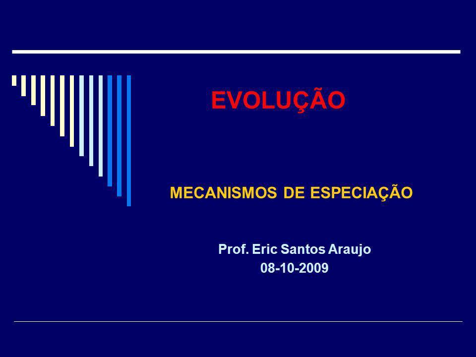Prof. Eric Santos Araujo 08-10-2009