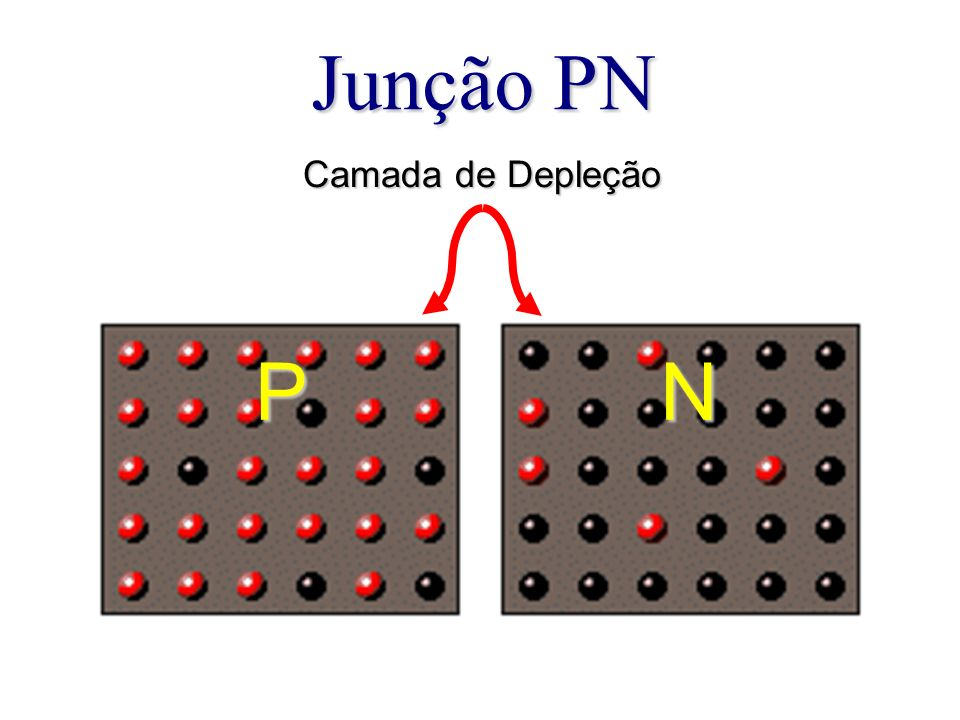 Junção PN Camada de Depleção P N