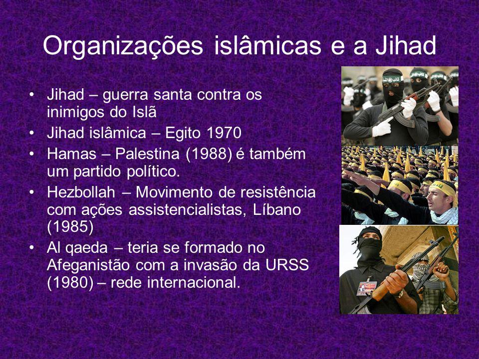 Organizações islâmicas e a Jihad
