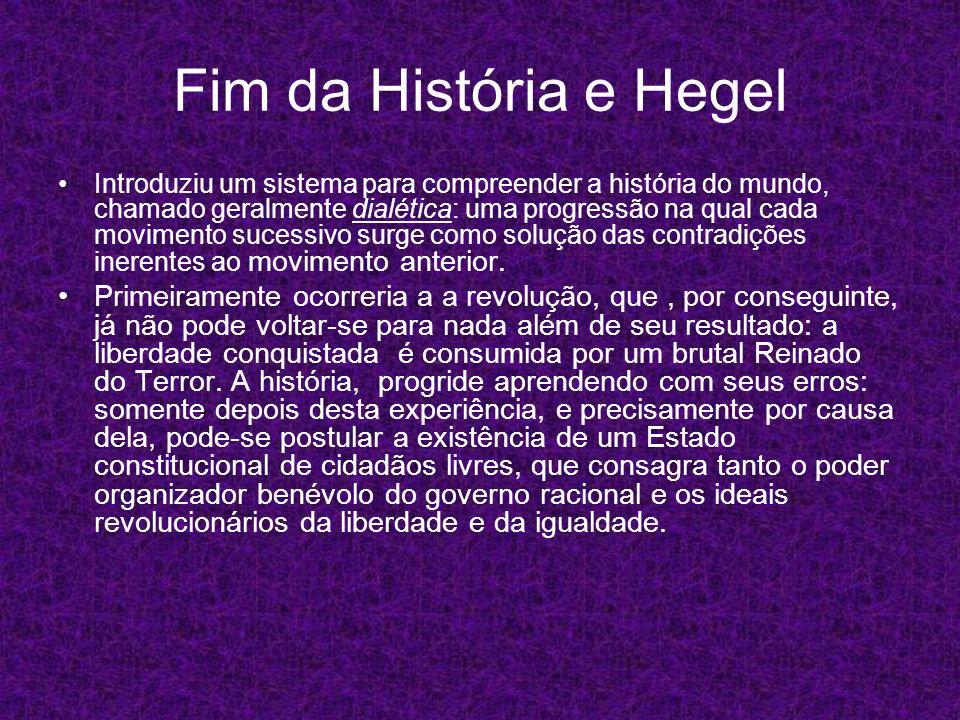 Fim da História e Hegel