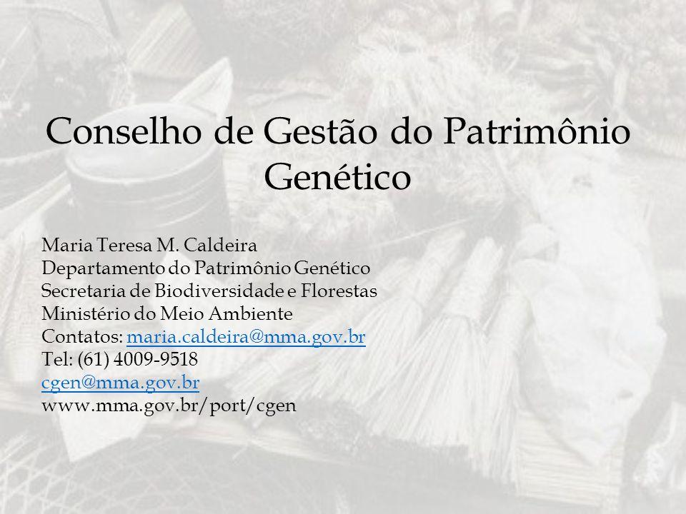 Conselho de Gestão do Patrimônio Genético