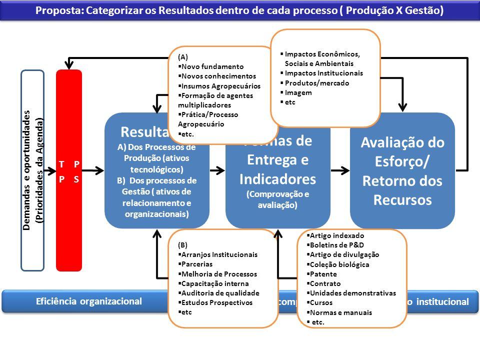 Demandas e oportunidades (Prioridades da Agenda)