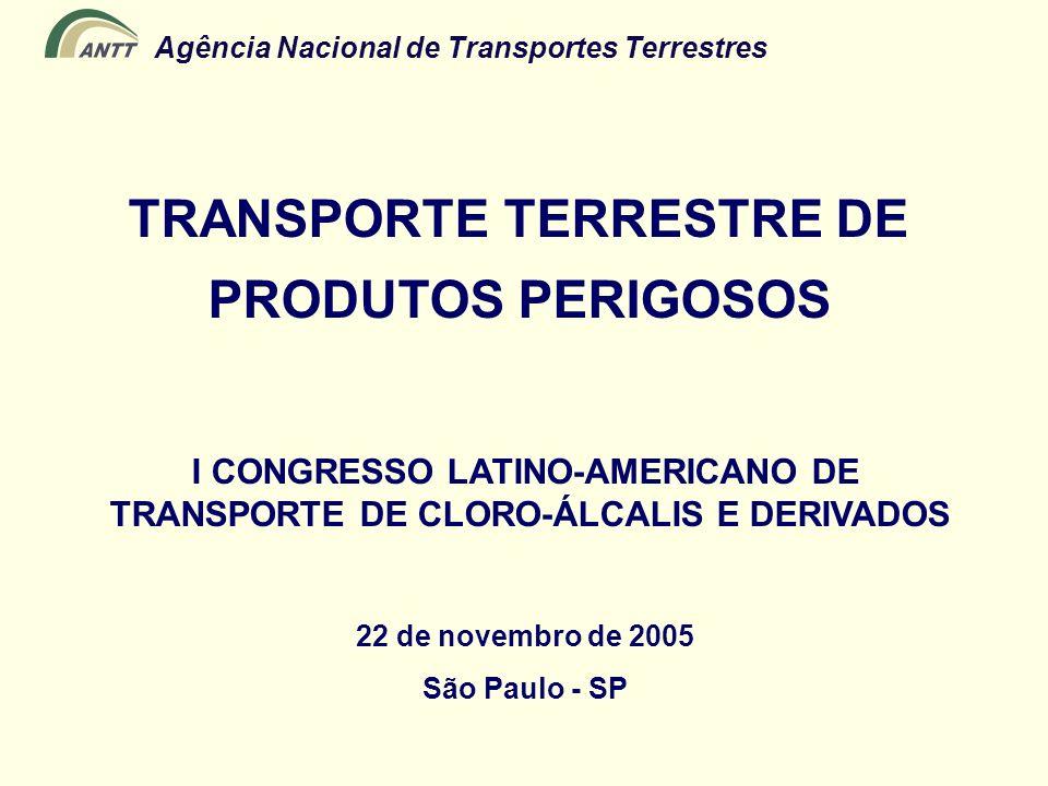 TRANSPORTE TERRESTRE DE PRODUTOS PERIGOSOS