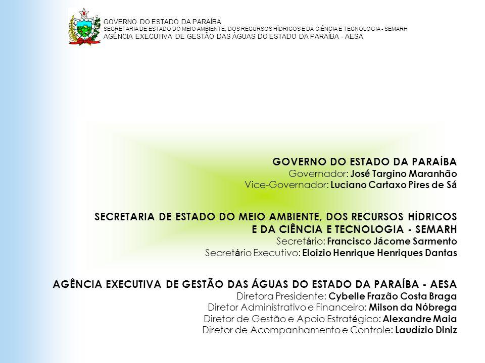 GOVERNO DO ESTADO DA PARAÍBA