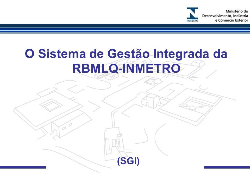 O Sistema de Gestão Integrada da RBMLQ-INMETRO