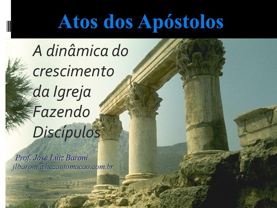 A dinâmica do crescimento da Igreja Fazendo Discípulos