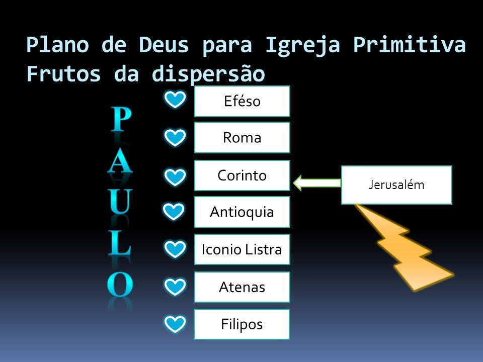 Plano de Deus para Igreja Primitiva Frutos da dispersão