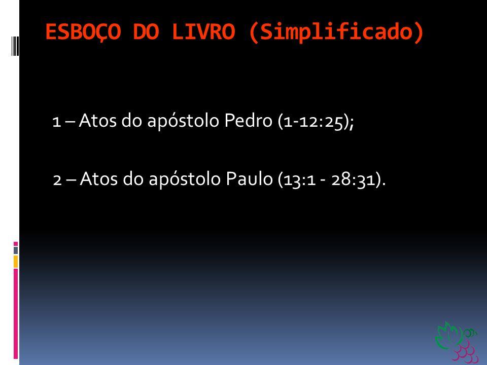 ESBOÇO DO LIVRO (Simplificado)