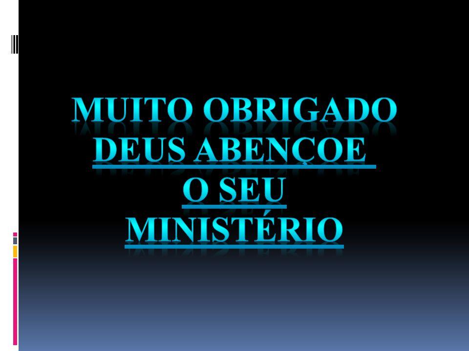 Muito obrigado Deus abençoe O seu ministério