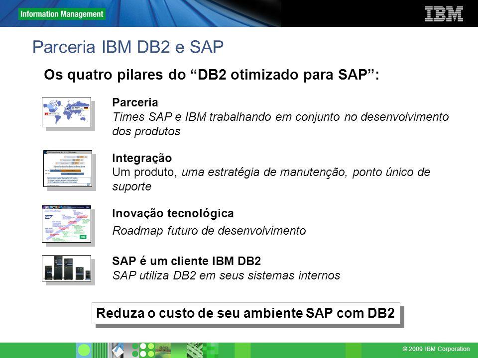 Reduza o custo de seu ambiente SAP com DB2