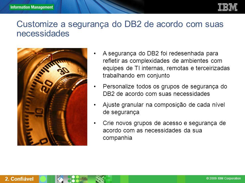 Customize a segurança do DB2 de acordo com suas necessidades