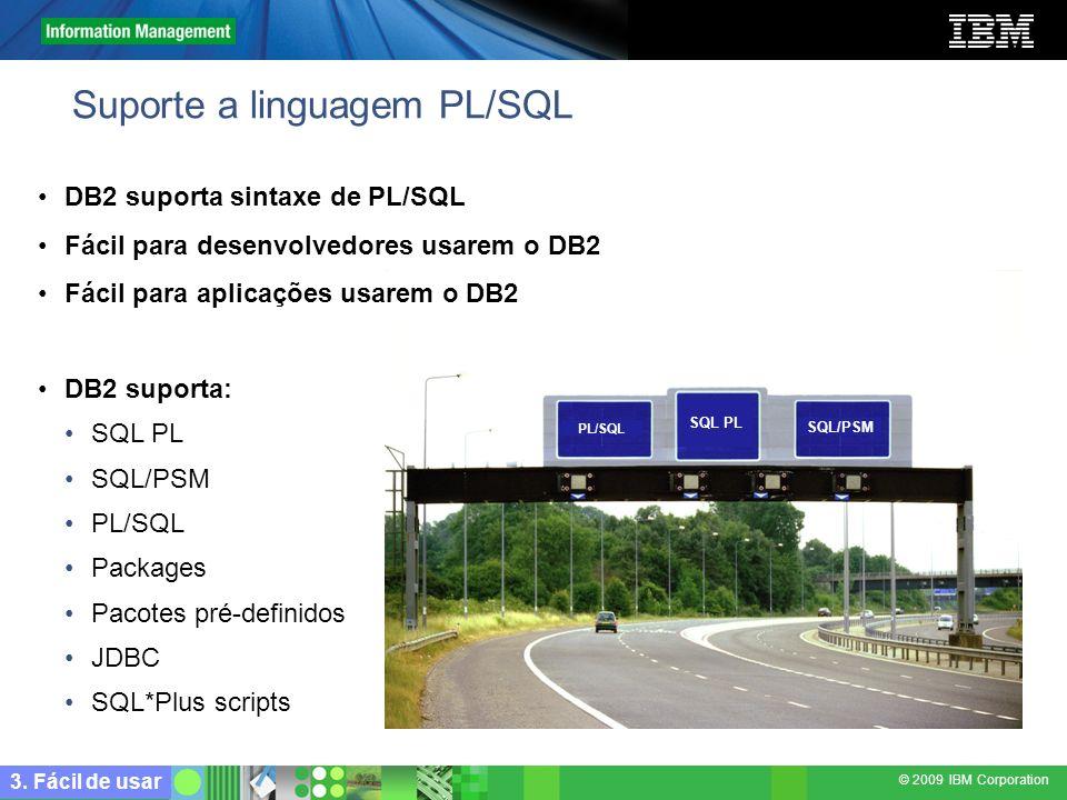 Suporte a linguagem PL/SQL