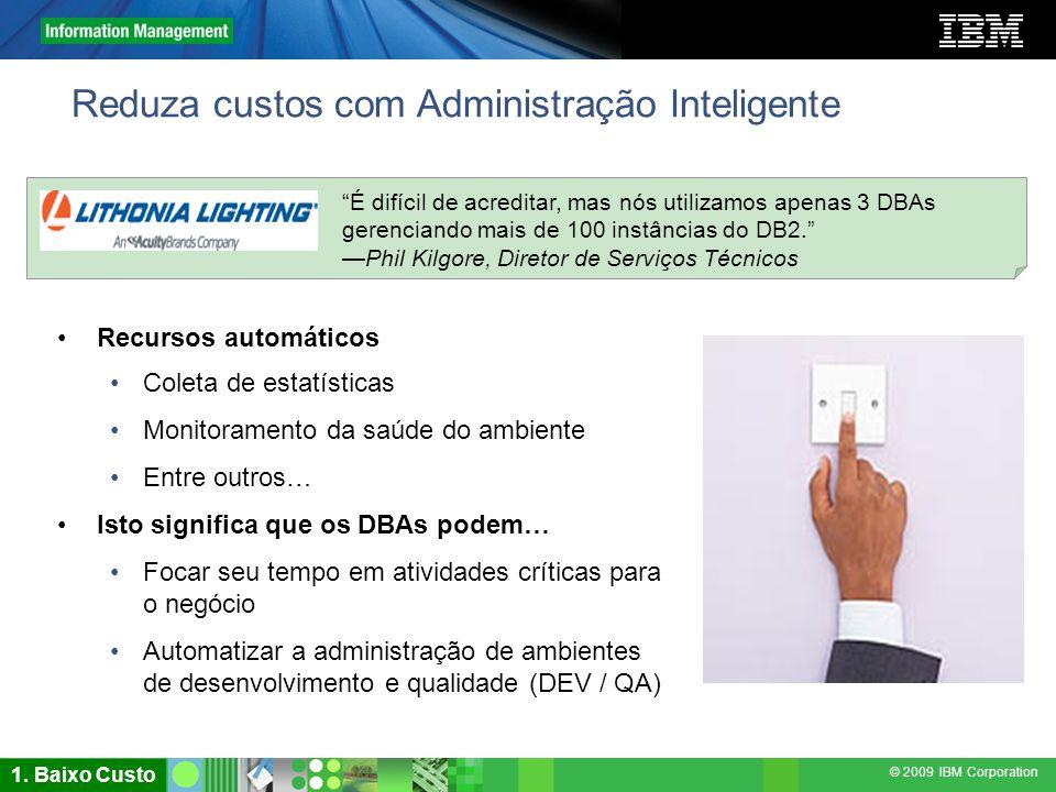 Reduza custos com Administração Inteligente