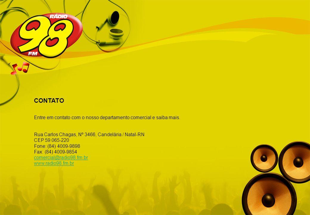 CONTATOEntre em contato com o nosso departamento comercial e saiba mais. Rua Carlos Chagas, Nº 3466, Candelária / Natal-RN.