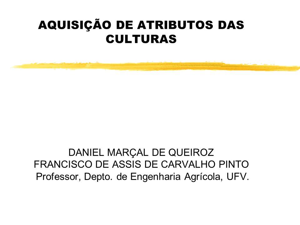 AQUISIÇÃO DE ATRIBUTOS DAS CULTURAS DANIEL MARÇAL DE QUEIROZ FRANCISCO DE ASSIS DE CARVALHO PINTO Professor, Depto.