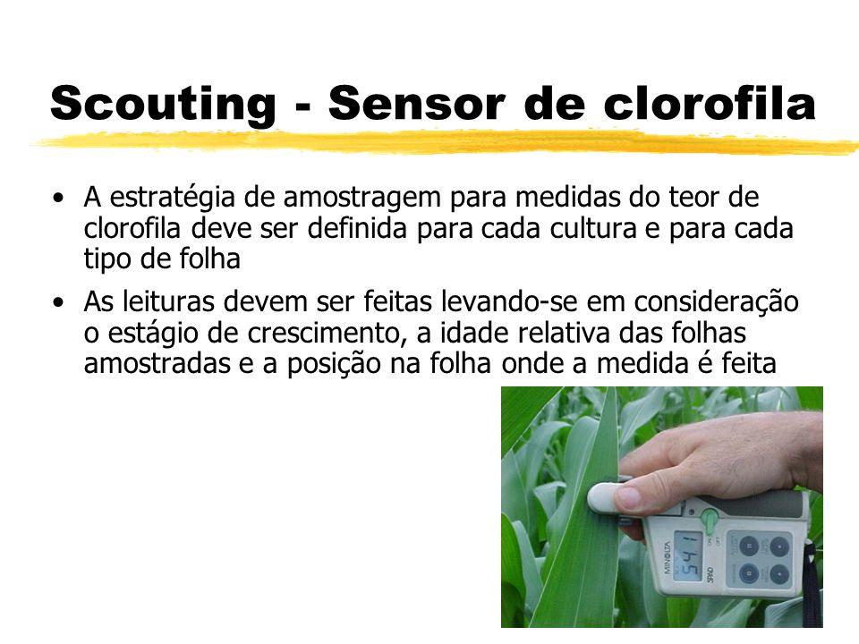 Scouting - Sensor de clorofila