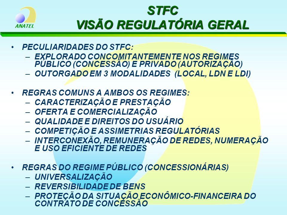 STFC VISÃO REGULATÓRIA GERAL
