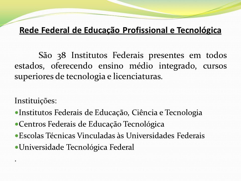 Rede Federal de Educação Profissional e Tecnológica