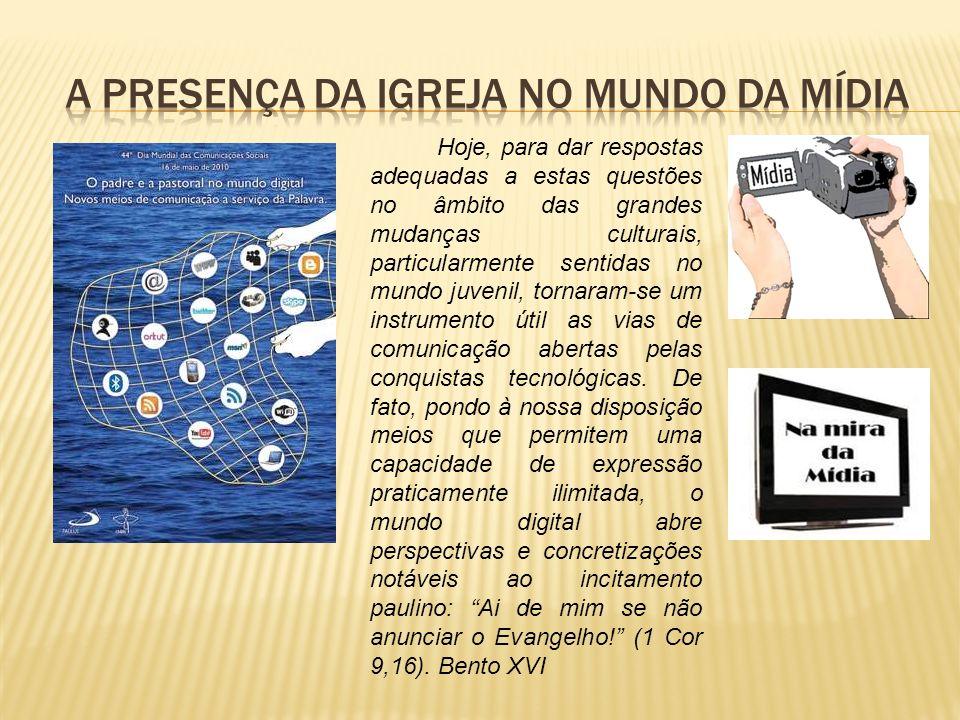 A presença da igreja no mundo da mídia