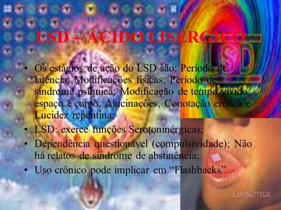 LSD – ÁCIDO LISÉRGICO