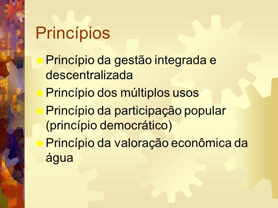 Princípios Princípio da gestão integrada e descentralizada