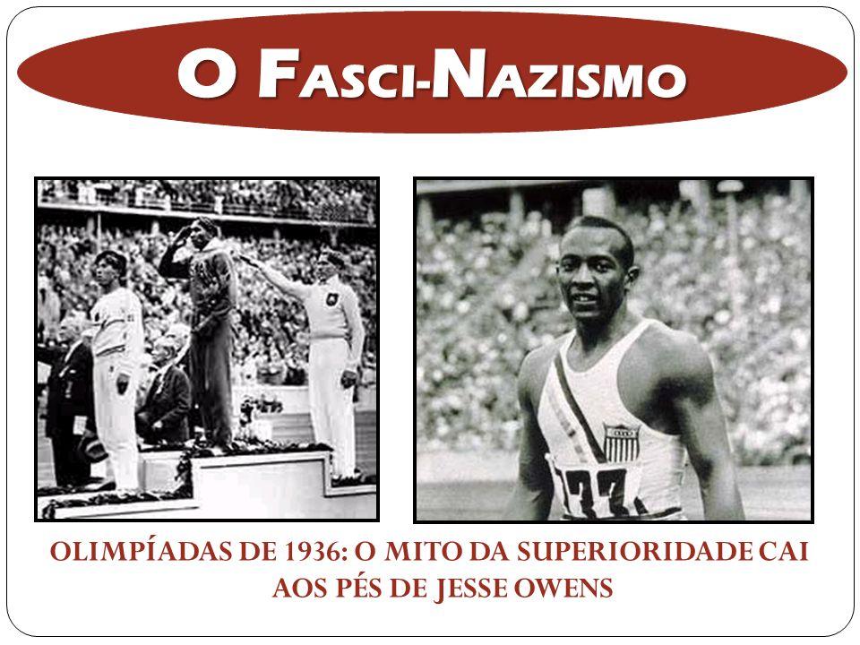 OLIMPÍADAS DE 1936: O MITO DA SUPERIORIDADE CAI AOS PÉS DE JESSE OWENS