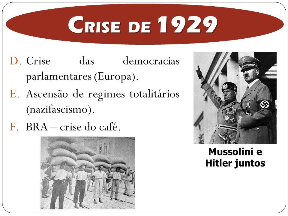 Mussolini e Hitler juntos