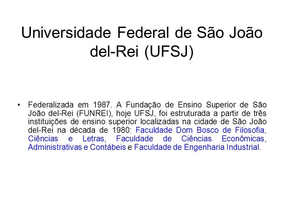 Universidade Federal de São João del-Rei (UFSJ)